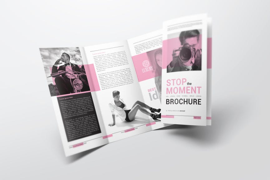Brochures DL size 6 pages